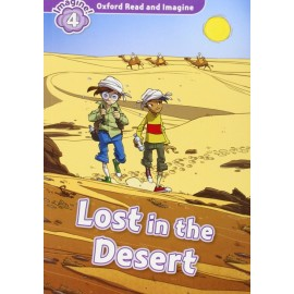 Oxford Read and Imagine Level 4: Lost in the Desert + Audio CD