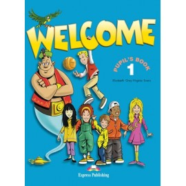 Welcome 1 Pupil's Book + Audio CD + Alphabet Book