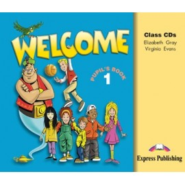 Welcome 1 Class Audio CDs