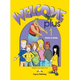 Welcome Plus 1 Pupil's Book + Audio CD + Alphabet Book