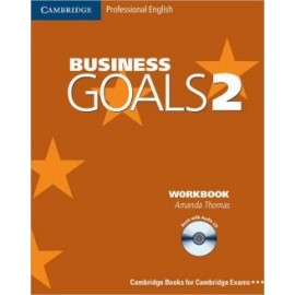 Business Goals 2 Workbook with Audio CD