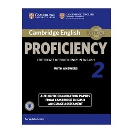 Cambridge English Proficiency 2 Student's Book with Answers + Audio download