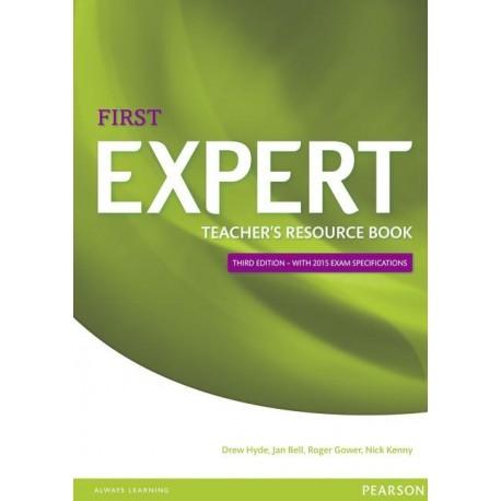 First Expert Third Edition Teacher's Resource Book Pearson 9781447973775