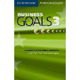 Business Goals 3 Audio Cassette