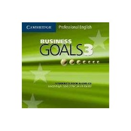 Business Goals 3 Audio CD