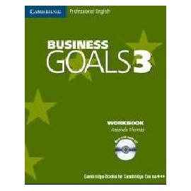 Business Goals 3 Workbook with Audio CD