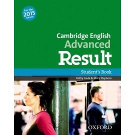 Cambridge English Advanced Result Student's Book