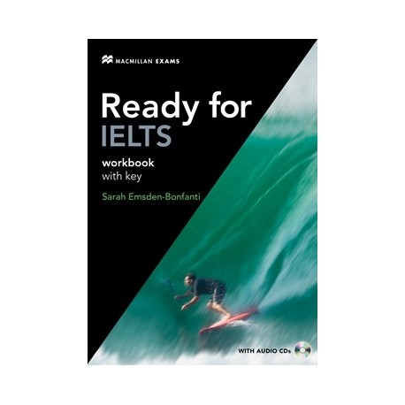 Ready for IELTS Workbook with Key + Audio CD Macmillan 9780230401037