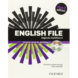 English File Third Edition Beginner Multipack B + iTutor DVD-ROM + iChecker CD-ROM