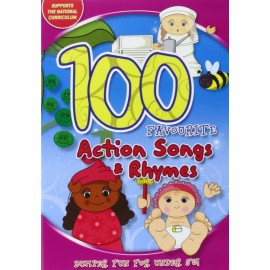 100 Favourite Action Songs & Rhymes DVD