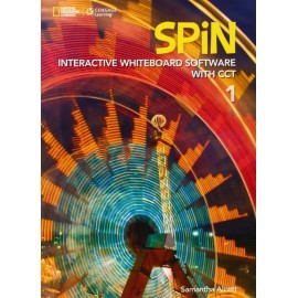 Spin 1 Interactive Whiteboard Software CD-ROM with CCT