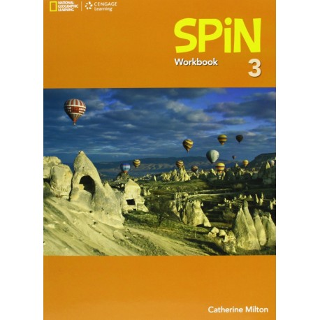 Spin 3 Workbook Cengage Learning 9781408061077