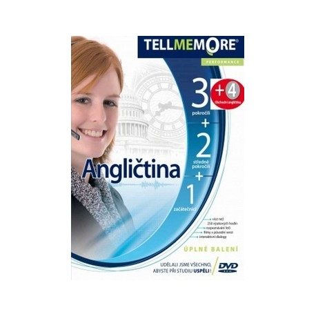 Tell Me More DVD-ROM (sada 1-4) LEDA 8594037281133