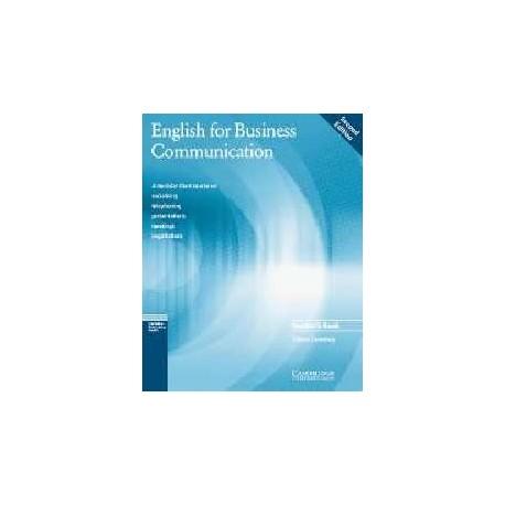 English for Business Communication Teacher's Book