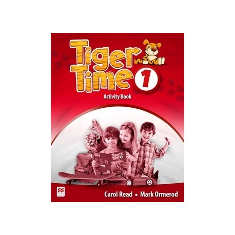 Tiger Time 1 Activity Book Macmillan 9780230483576