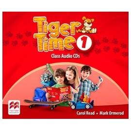 Tiger Time 1 Class CDs