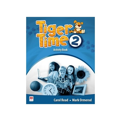 Tiger Time 2 Activity Book Macmillan 9780230483620