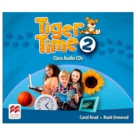 Tiger Time 2 Class CDs