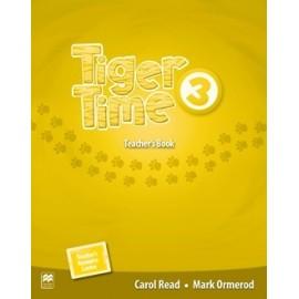 Tiger Time 3 Teacher's Book Pack + Online access code