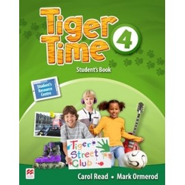Tiger Time 4 Student's Book Pack + Online Access Code