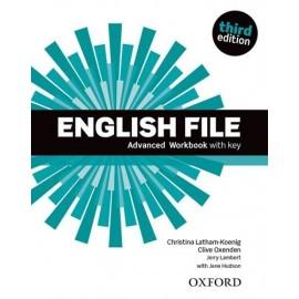 English File Third Edition Advanced Workbook with Key