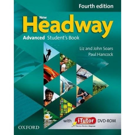 New Headway Advanced Fourth Edition Student's Book + iTutor DVD-ROM Oxford University Press 9780194713535