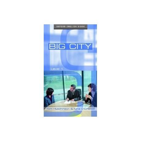 Big City 1 Video Cassette PAL Oxford University Press 9780194592000