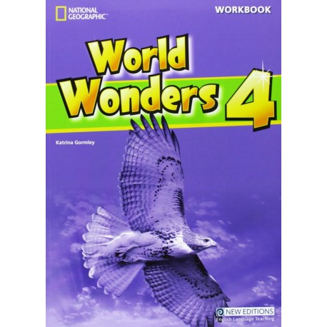 World Wonders 4 Workbook with Audio CD Cengage Learning 9781111218072