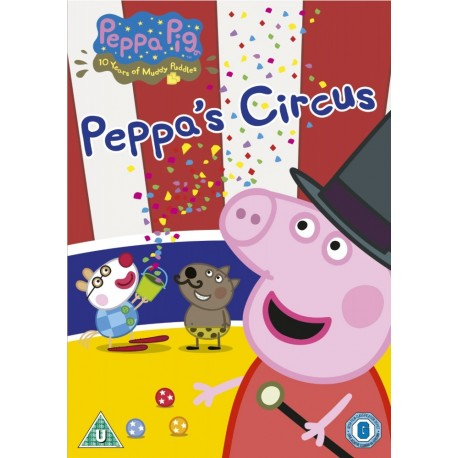 Peppa Pig: Peppa´s Circus and other stories DVD Entertainment One 5030305107901