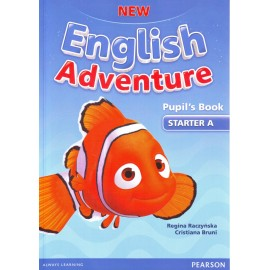 New English Adventure Starter A Pupil's Book + DVD