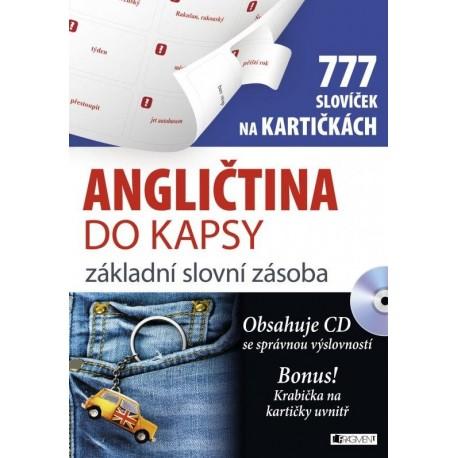 Angličtina do kapsy – základní slovní zásoba na kartičkách + MP3 Audio CD FRAGMENT 9788025318812