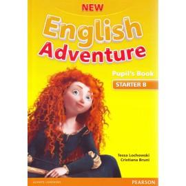New English Adventure Starter B Pupil's Book + DVD
