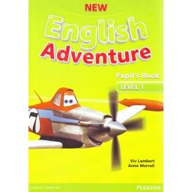 New English Adventure 1 Pupil's Book + DVD