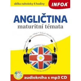 Anglická maturitní témata + Audiokniha (MP3 Audio CD)