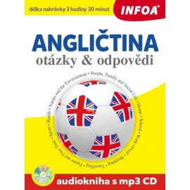 Angličtina otázky a odpovědi + Audiokniha (MP3 Audio CD)
