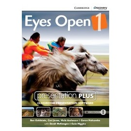 Eyes Open 1 Presentation Plus DVD-ROM
