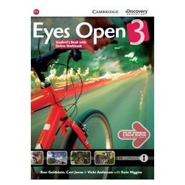 Eyes Open 3 Student's Book with Online Workbook + Online Practice