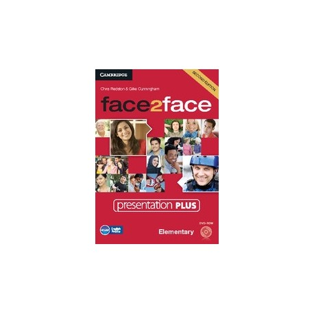 face2face Elementary Second Ed. Presentation Plus DVD-ROM Cambridge University Press 9781107446212
