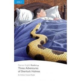 Three Adventures of Sherlock Holmes + MP3 Audio CD