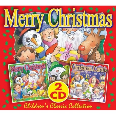 Merry Christmas 2 CD Children's Classic Collection CYP Limited 9781847334633