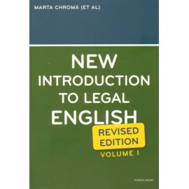 New Introduction to Legal English vol. 1 (Revised Edition)