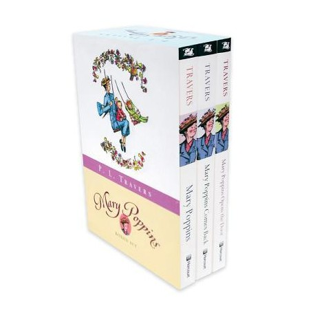 Mary Poppins (boxed set) Harcourt 9780152058692