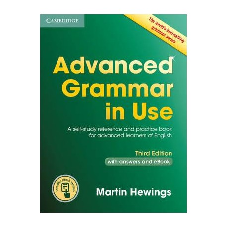 Advanced Grammar in Use Third Edition with answers + Interactive eBook Cambridge University Press 9781107539303