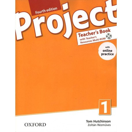 Project 1 Fourth Edition Teacher's Book + Teacher's Resources MultiROM with Online Practice Oxford University Press 9780194704045