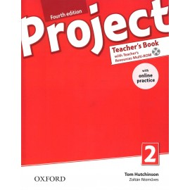Project 2 Fourth Edition Teacher's Book with Online Practice Pack