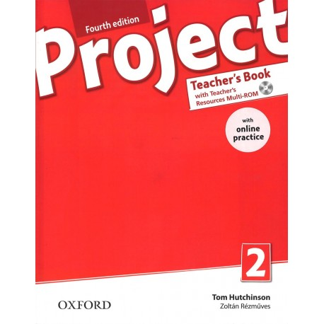 Project 2 Fourth Edition Teacher's Book + Teacher's Resources MultiROM with Online Practice Oxford University Press 9780194704052