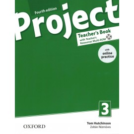 Project 3 Fourth Edition Teacher's Book + Teacher's Resources MultiROM with Online Practice
