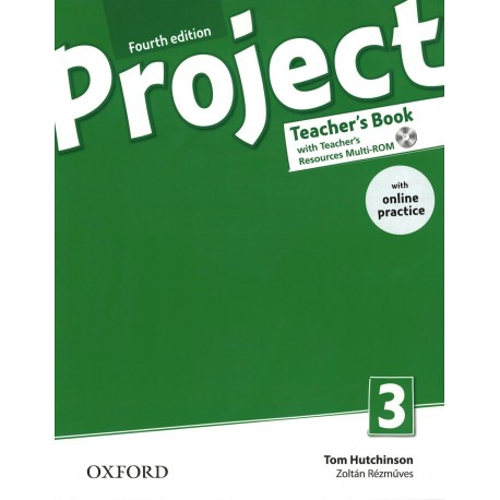 Project 3 Fourth Edition Teacher's Book + Teacher's Resources MultiROM with Online Practice Oxford University Press 9780194704069