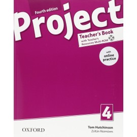 Project 4 Fourth Edition Teacher's Book with Online Practice