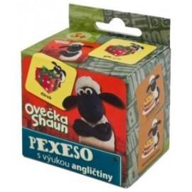 Pexeso s výukou angličtiny - Ovečka Shaun